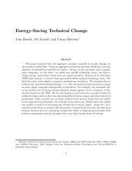 Energy-Saving Technical Change - John Hassler's homepage