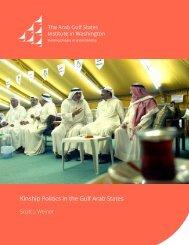 Kinship Politics in the Gulf Arab States