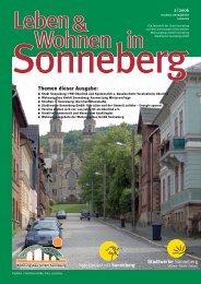 Themen dieser Ausgabe - Sonneberg