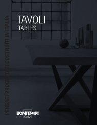 TAVOLI by Bontempi Casa
