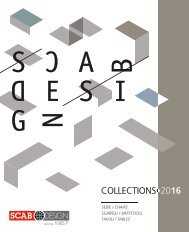 TAVOLI E SEDIE by Scab Design