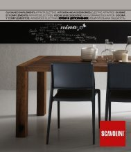 TAVOLI E SEDIE MODERNI by Scavolini