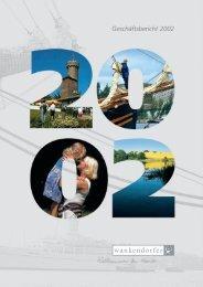 Geschäftsbericht 2002 - Wankendorfer BauGenossenschaft für ...