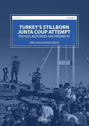 TURKEY'S STILLBORN JUNTA COUP ATTEMPT