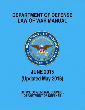 DoD-Law-of-War-Manual-June-2015-Updated-May-2016