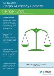 Preqin Quarterly Update Hedge Funds
