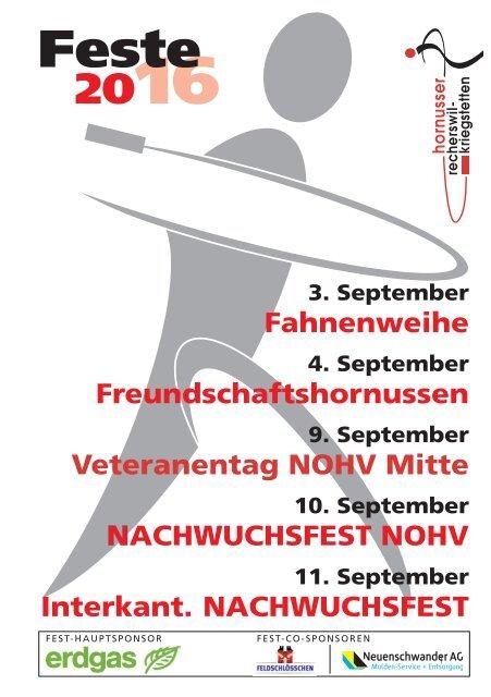 Festführer 2016