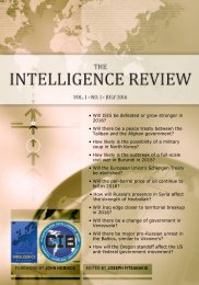 The Intelligence Review | vol. 1 | iss. 1 |