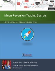 Mean Reversion Trading Secrets