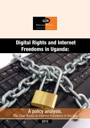 Freedoms in Uganda