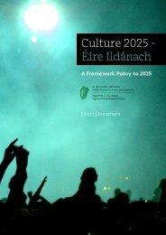 Culture 2025 - Éire Ildánach