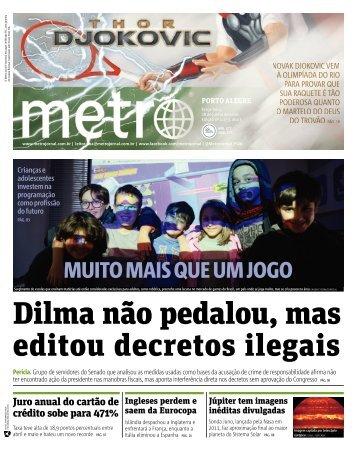 Dilma não pedalou mas editou decretos ilegais