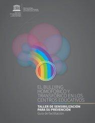 EL BULLYING HOMOFÓBICO Y TRANSFÓBICO EN LOS CENTROS EDUCATIVOS