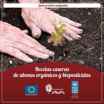 Recetas caseras de abonos orgánicos y biopesticidas