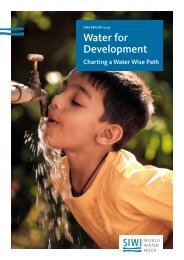 Water for Development