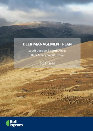 DEER MANAGEMENT PLAN