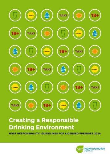 Creating a Responsible Drinking Environment