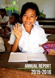 CoH Annual Report 2015-2016