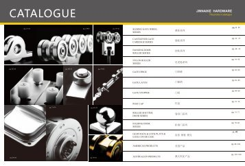 Cantilver & sliding  Gate hardware and Components catalogue  by Jinnaike helen share