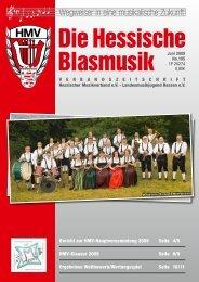 Hauptversammlung 2009 - Hessischer Musikverband