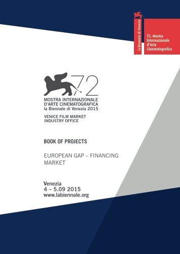 BOOK OF PROJECTS EUROPEAN GAP – FINANCING MARKET