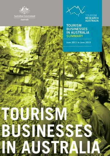 TOURISM BUSINESSES IN AUSTRALIA