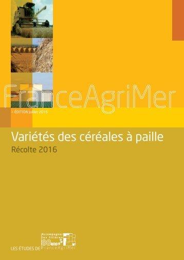 Variétés des céréales à paille