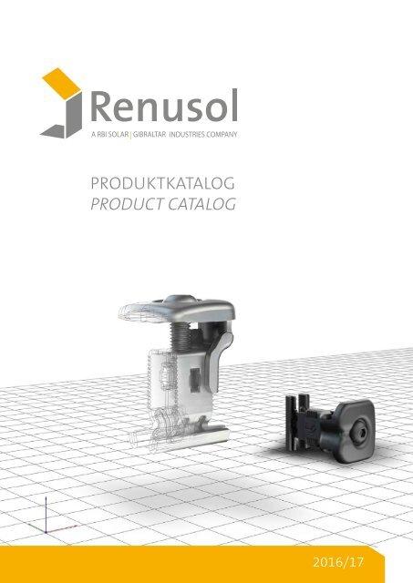 Renusol Katalog 2016/2017