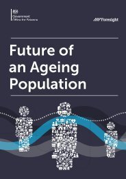 Future of an Ageing Population
