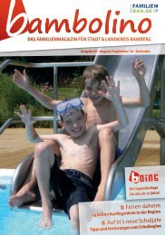 Bambolino - Das Familienmagazin für Bamberg und Region