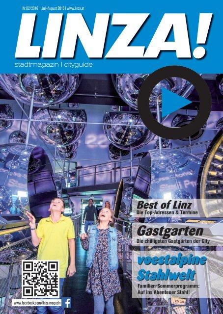 LINZA stadtmagazin Ausgabe#2 – Juli/August 2016