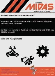 Wynberg Service Centre Promotion