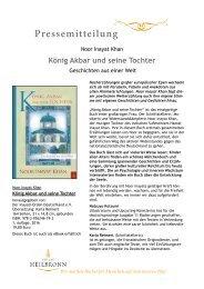 König Akbar und seine Tochter von Noor Inayat Khan - Pressemitteilung