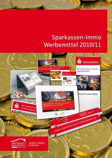 Sparkassen-Immo Werbemittel 2010/11 - Sparkassen Immobilien