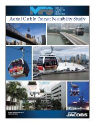Aerial Cable Transit Feasibility Study
