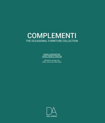 DallAgnese CATALOG COMPLEMENTI 20151