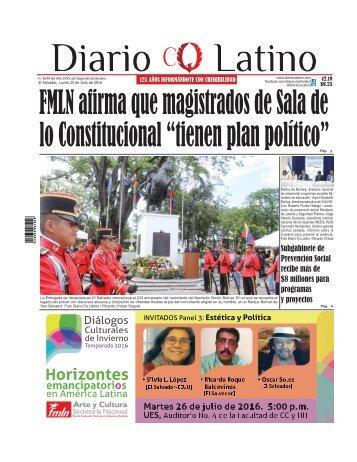 Edición 25 de Julio de 2016