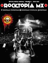 Rocktopía Mx - Número 5 - Julio 2016