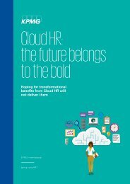 Cloud HR the future belongs to the bold