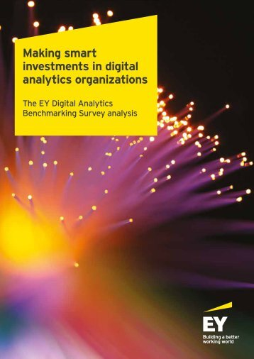 Making smart investments in digital analytics organizations