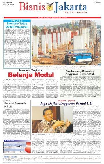 Bisnis Jakarta 26 Juli 2016