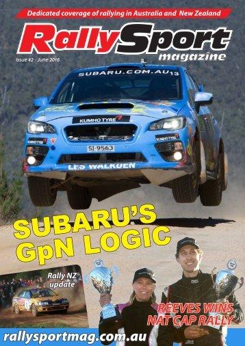 RallySport Magazine June 2016