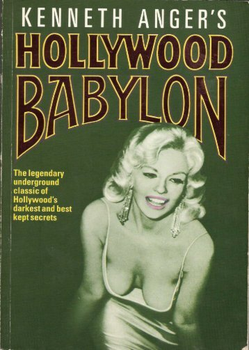 Kenneth Anger - Hollywood Babylon I - 1975