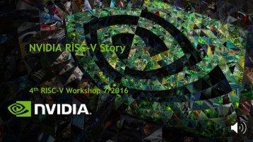 NVIDIA RISC-V Story