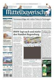BMW legt nach und stärkt den Standort Regensburg