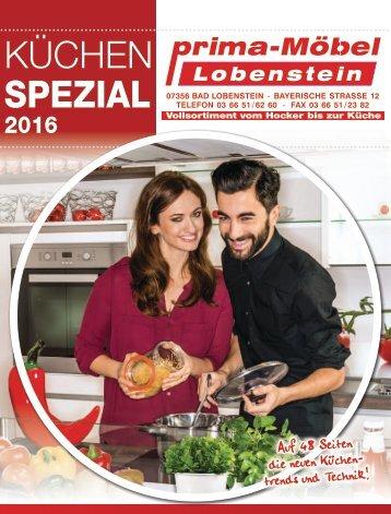 Prima Möbel Lobenstein - Küchen Spazial 2016