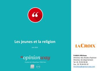 Les jeunes et la religion