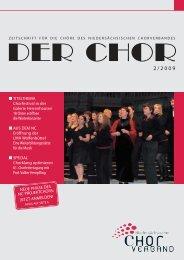 DER CHOR 2/2009