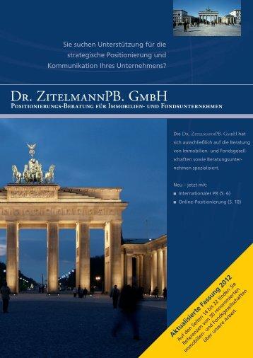 Positionierungs-Beratung für Immobilien- und ... - Zitelmann