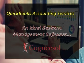 Outsource Quickbooks Accounting Services - Business Management Software